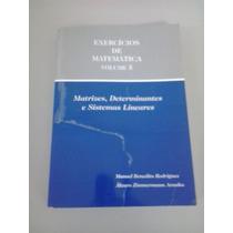 Exercícios De Matemática-vol.5-*ótimo Estado De Conservação*