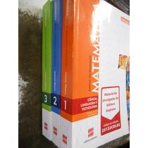 Matemática Ciência, Linguagem E Tecnologia - 3 Volumes
