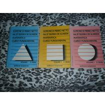 Matemática Curso Fundamental Scipione Di Pierro Netto 3 Vols