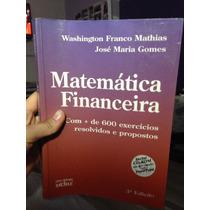 Matematica Financeira - 600 Exercicios Resolvidos Lt
