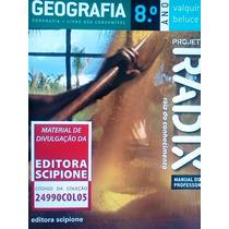 Geografia 8º Ano Projeto Radix