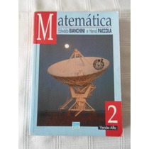 Livro - Matemática Adwaldo Bianchini E Harval Paccola.