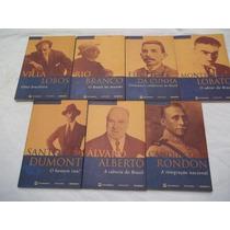 Colação Contraponto Personalidades Brasileiras - 7 Volumes