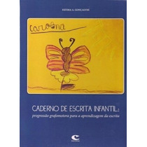 Caderno De Escrita Infantil - Progressao Grafomotora