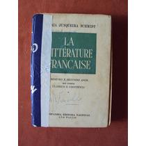 Livro La Littérature Française-maria Junqueira Schmidt
