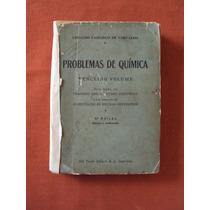 Livro Problemas De Química-geraldo Camargo De Carvalho