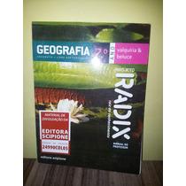 Geografia Projeto Radix - 7º Ano Manual Do Professor
