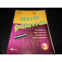 Livro-novas Palavras Volume 3- Para Professor