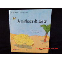Livro A Minhoca Da Sorte Paradidático Ensino Fundamental