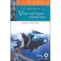 Livro Vinte Mil Léguas Submarinas - Júlio Verne