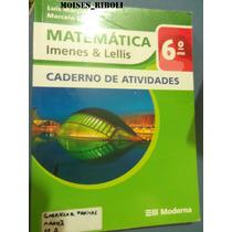 Caderno De Atividades Matemática 6º Ano Imenes Jj