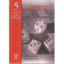 Livro - Fundamentos De Matemática Elementar, Vol. 5.