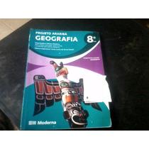 Livro: Projeto Arariba Geografia 8°ano