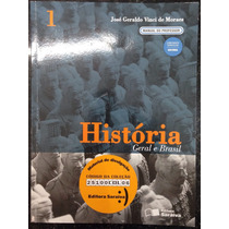 Livro História Geral E Brasil 1 Manual Do Professor.