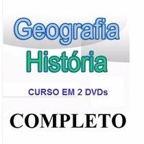 Geografia E História - Aulas - 2dvds Pague Com Mercado Pago