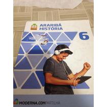 Livro Araribá História Moderna Compartilha 6 Ano