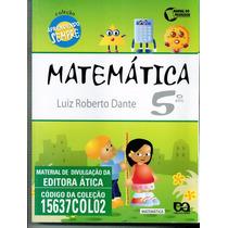 Livro Matematica - 5.o Ano - Luiz Roberto Dante - 2009