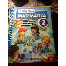 Livro Matemática 2 - Ensino Fundamental. Editora Moderna
