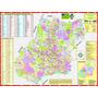 Mapa Do Estado De Goiás --- Político - 117 X 89 Cm