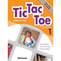 Livro Tic Tac Toe English For Kids 1 + Multirom