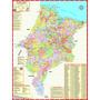 Mapa Do Estado Do Maranhão --- Político --- 89 X 117 Cm