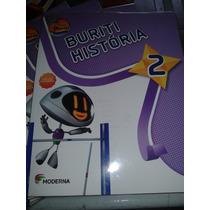 Historia Projeto Buriti 2 3 Ediçao Editora Moderna