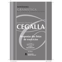 Solucionario - Novíssima Gramativa Domingos Paschoal Cegalla