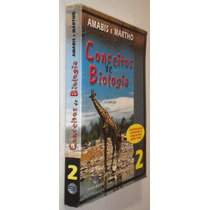 Conceitos De Biologia Vol. 2 Amabis E Martho Livro