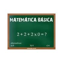 Matemática Básica Em Vídeo (02-dvd