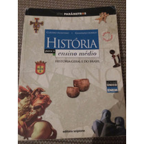 Livro História Para O Ensino Médio Editora Scipione