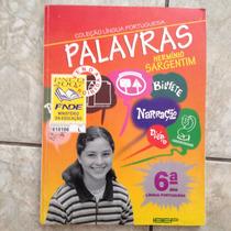 Livro Coleção Língua Portuguesa Palavras Hermínio Sargentim