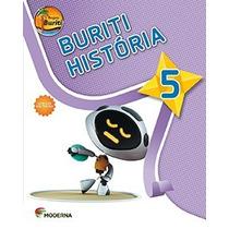 Livro Projeto Buriti História 5° Ano C/ Dvd - Ed. Moderna
