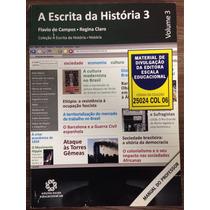 Livro A Escrita Da História 3 Manual Do Professor.