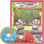 Brincando E Aprendendo Com A Turma Da Mônica - 4 Vols + Cd