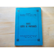 Livro - Vinte Lições De Português - Suplemento 1ª A 4ª Série