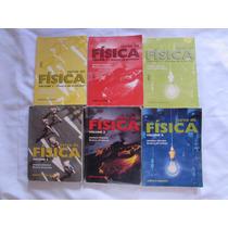 Coleção Curso De Física - Beatriz Alvarenga 6 Livros Resoluç