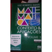 Matemática Contexto E Aplicações Vol 3