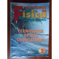 Livro Os Alicerces Da Física 2 - Ed. Saraiva - Ensino Médio