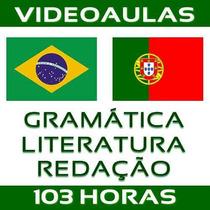 Curso De Português - Gramática Literatura Redação Enem Dvd