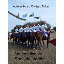Matemática Admissão Ensino Fundamental Col. Militar