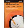 Livro Matemática Para Concursos.