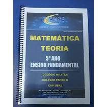Apostilas Matemática Colégio Militar E Pedro Ii - 6 Ano