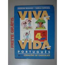 Livro Português Viva A Vida - Corações De Chocolate