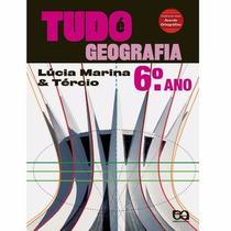 Livro Tudo É Geografia - 6º Ano Ática Promoção!!!