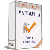 10 Dvds De Matemática Para Concursos Completo - Frete Grátis