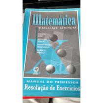Livro Matemática Vl Unico Resolução De Exercício