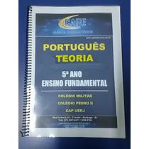Apostilas Português Colégio Militar E Pedro Ii + Questões