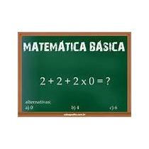 02 Dvd De Matemática Básica