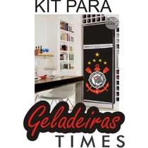 Kit Adesivo Skin Geladeira Envelopamento Times Futebol Clube