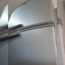 Adesivo Aço Escovado Inox P/ Geladeira Moveis 1,00 X 4,00 M